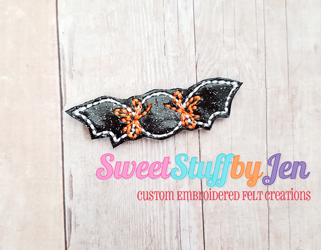 SSBJ Party Bat Candy Embroidery File