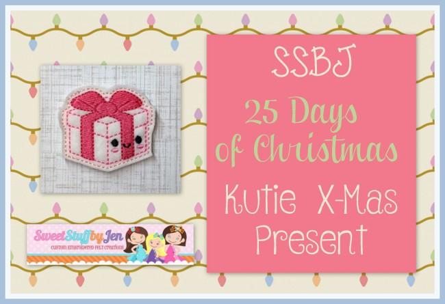 SSBJ Kutie XMas Gift Embroidery File