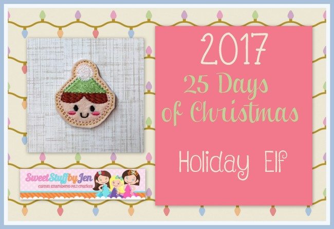 SSBJ Holiday Elf Embroidery File
