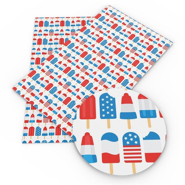 6x25 Patriotic Pop Printed Vinyl