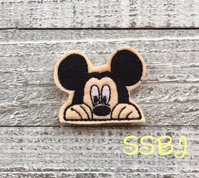 SSBJ Peeking Mr Mouse Embroidery File