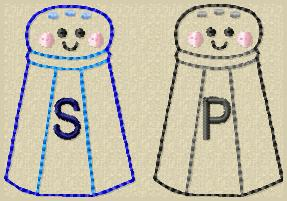 Salt & Pepper Embroidery File