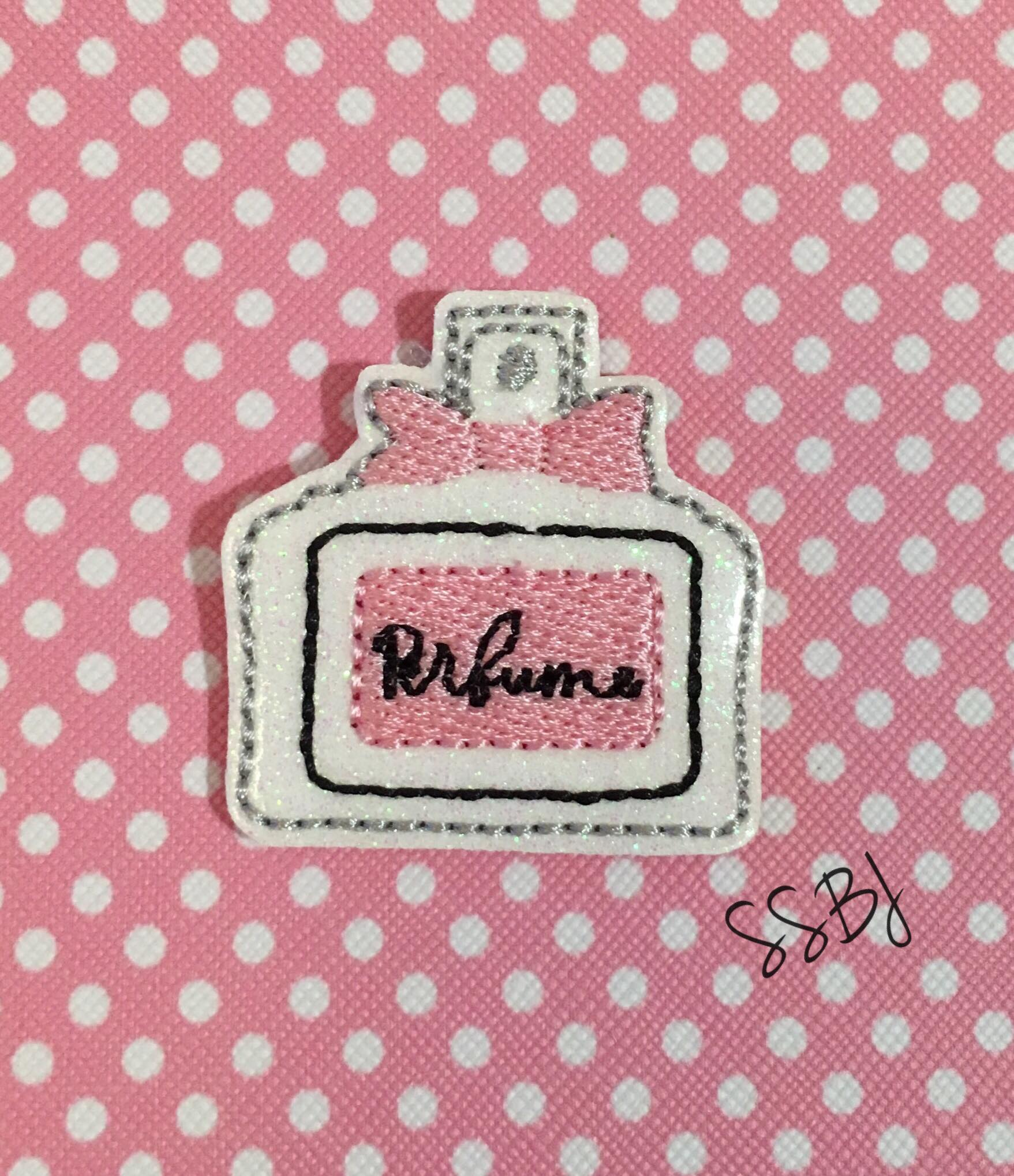 SSBJ Perfume Bottle Embroidery File