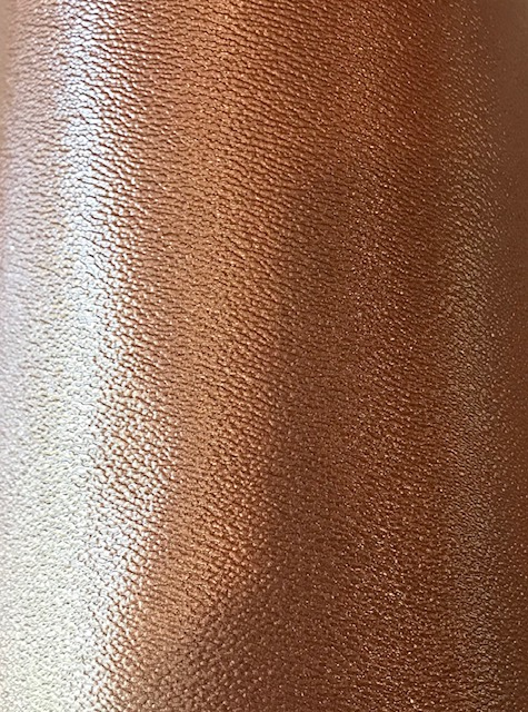 12x54 Copper Pearl Embroidery Vinyl