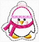 Perry the Penguin Embroidery File