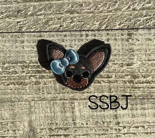 SSBJ Pet Pals Min Pin Embroidery File