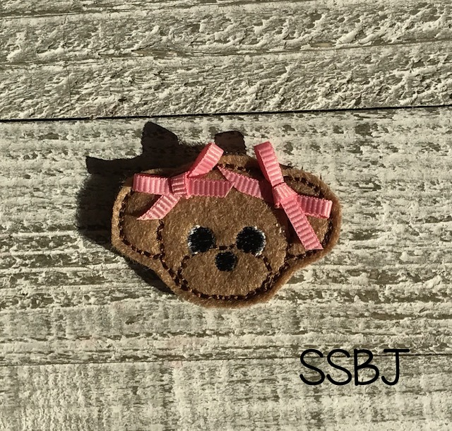 SSBJ Pet Pals Poodle Embroidery File