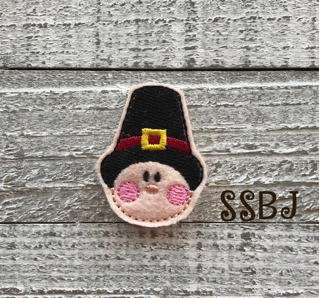 SSBJ Pilgrim Boy Embroidery File