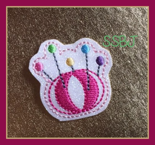 SSBJ Pin Cushion Embroidery File