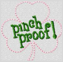 Pinch Proof Embroidery File
