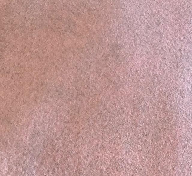 *Pink Frost Wool Blend Felt