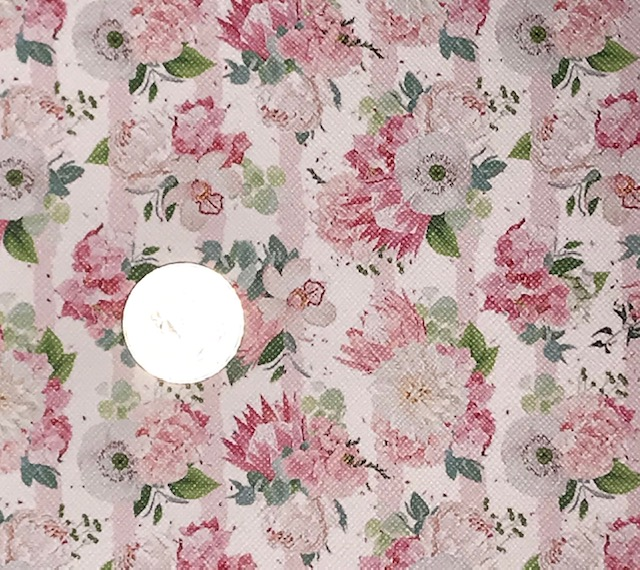 6x25 Pink Peony Floral