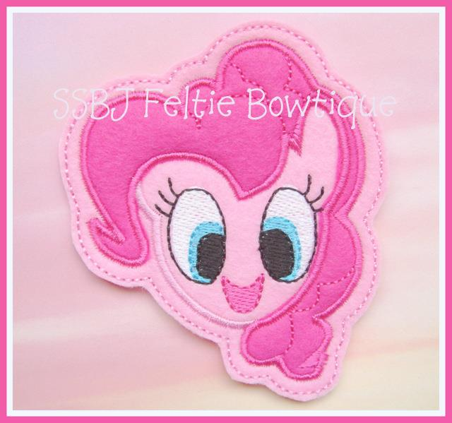 Pinky Pie Embroidery File