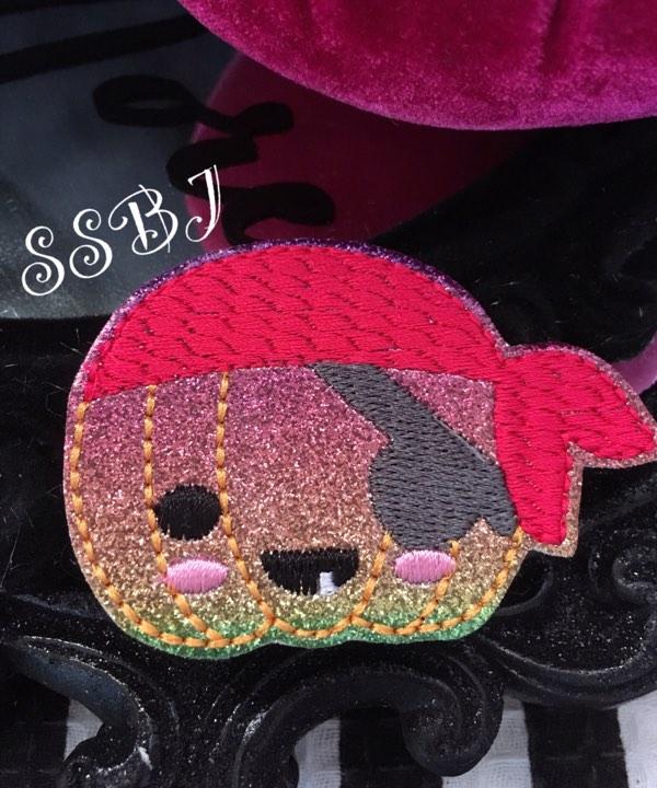 SSBJ Pirate Pumpkin Embroidery File