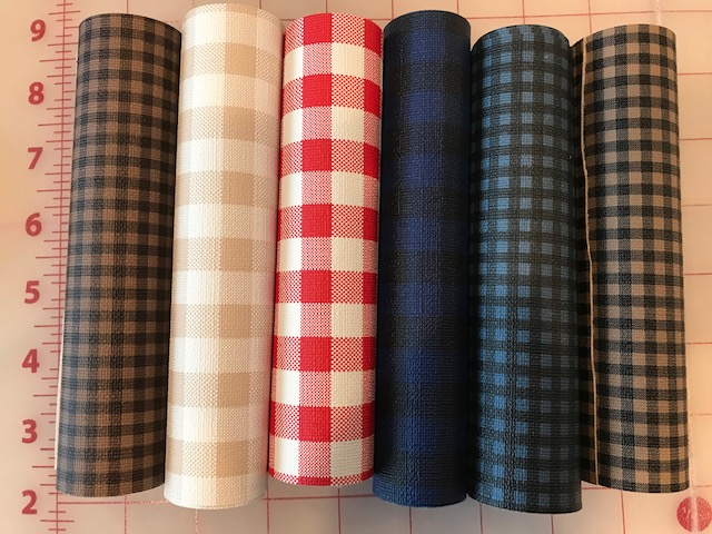6x25 Plaid Bundle