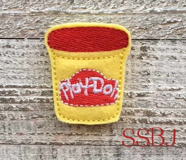 SSBJ Play Dough Embroidery File