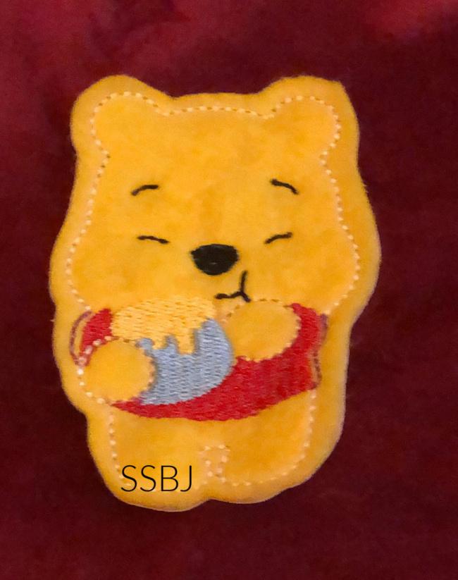 SSBJ Pooh Hunny Embroidery File