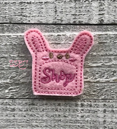 SSBJ Post It Note Bunny Embroidery File