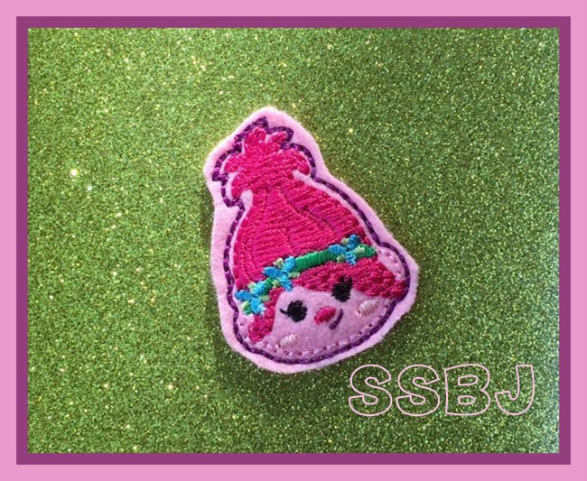 SSBJ Princess Poppy Embroidery File