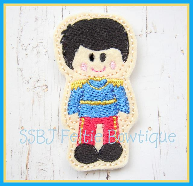 Prince Charming Embroidery File