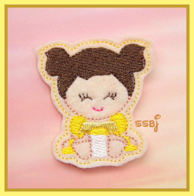 Princess Babie Belle Embroidery File