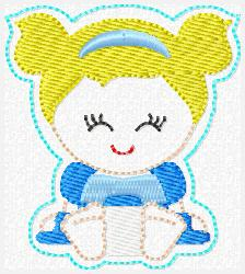 Princess Babie Cinderella Embroidery File