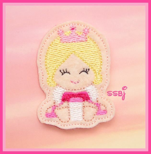 Princess Babie Sleeping Beauty Embroidery File