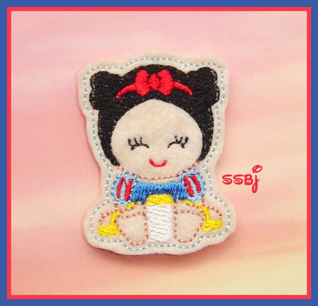 Princess Babie Snow White Embroidery File