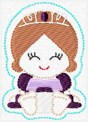 Princess Babie Sophia Embroidery File