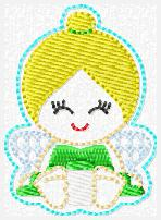 Princess Babie Tink Embroidery File