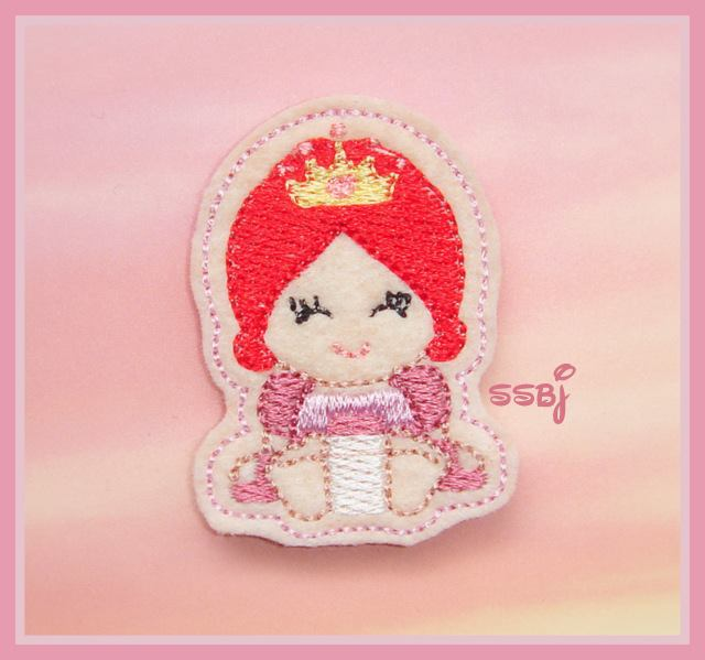 Princess Babie Ariel Embroidery File