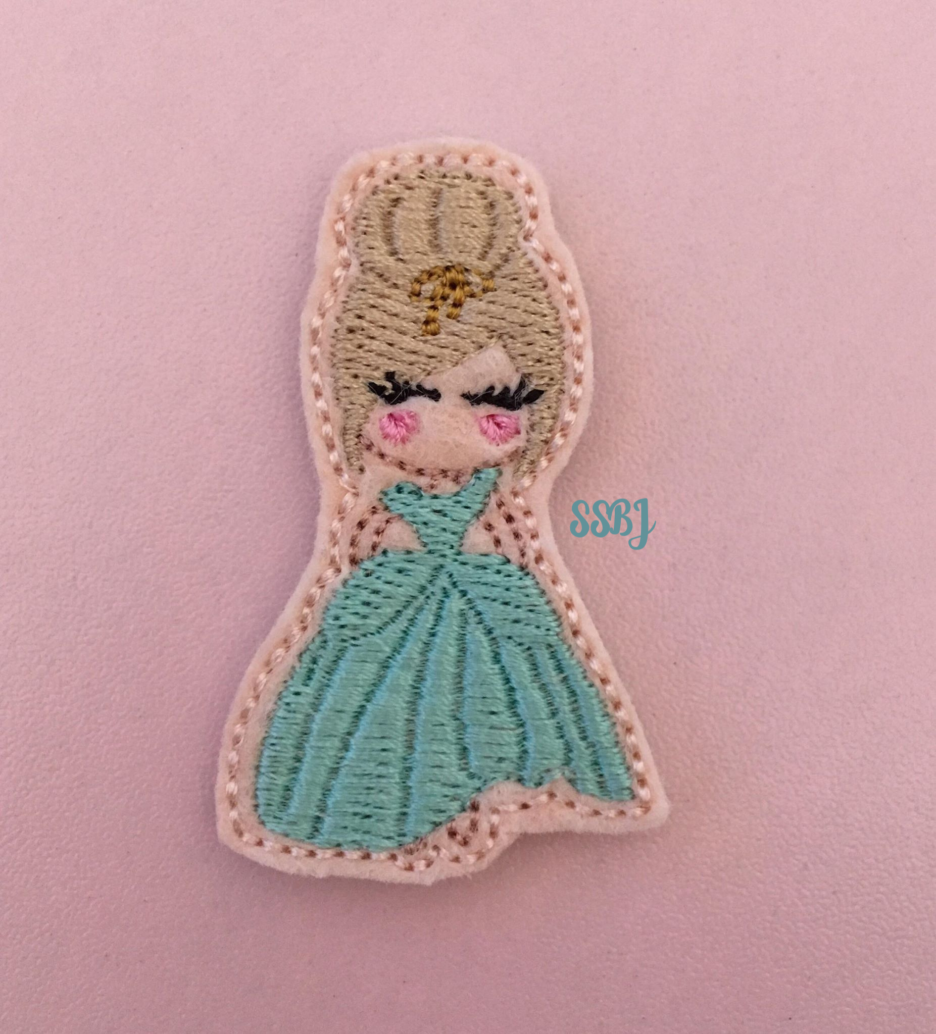 SSBJ Princess Ella Embroidery File