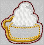 Pumpkin Pie Applique' Embroidery File
