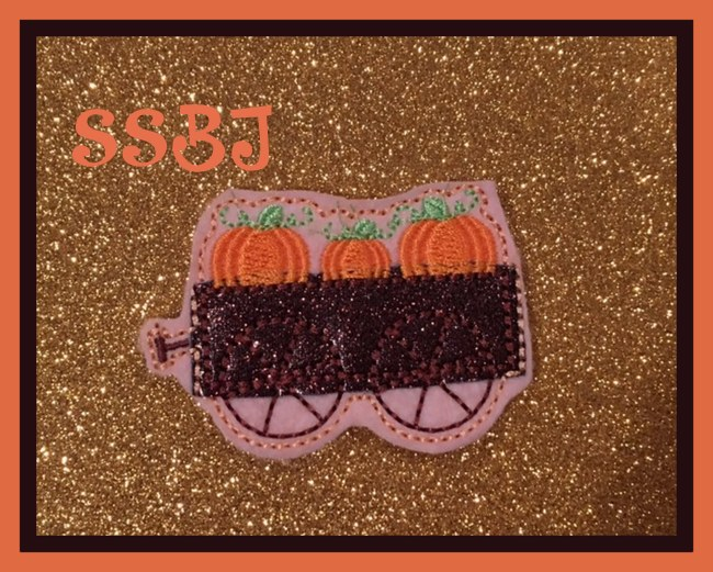 SSBJ Pumpkin Wagon Embroidery File