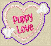 Puppy Love Embroidery File