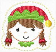 RR Elf Girl Embroidery File