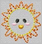 LBS Little Bowtique Shop Sunshine Feltie