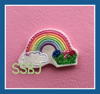 SSBJ Rainbow Egg Embroidery File