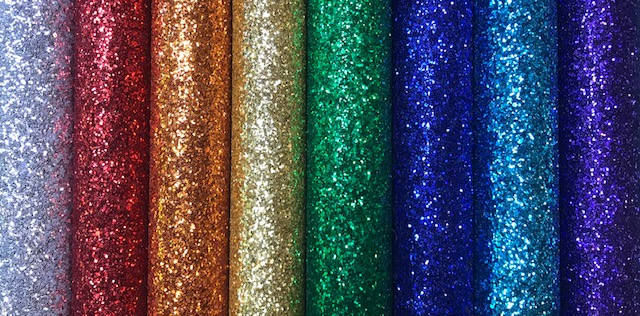 Rainbow Chunky Glitter Solids