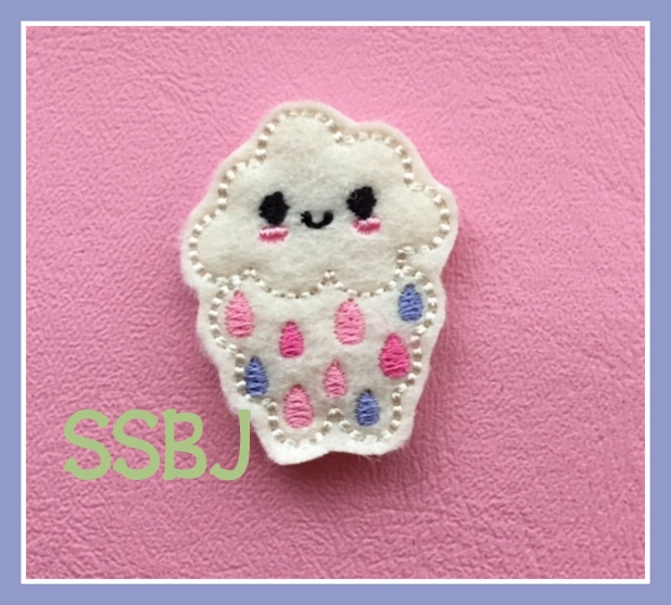 SSBJ Kutie Rain Cloud Embroidery File