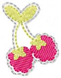 Raspberry Bunch Embroidery File