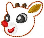 Reindeer Boy Embroidery File