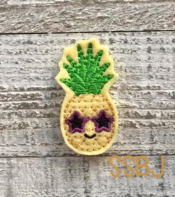 SSBJ Pineapple Rockstar Embroidery File