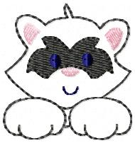 Rocky Raccoon Embroidery File