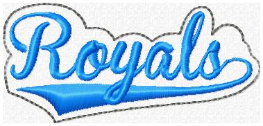 Royals 2 Glam Band Embroidery File