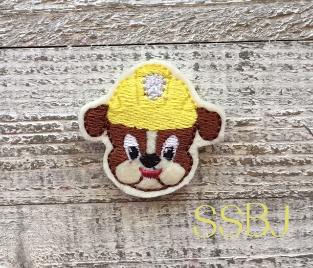 SSBJ Paw Patrol Rubble Embroidery File