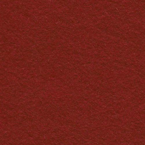 *Rustic Crimson Wool Blend Felt