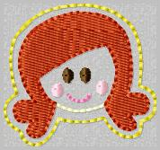 SS Princess Ariel 2 Embroidery File