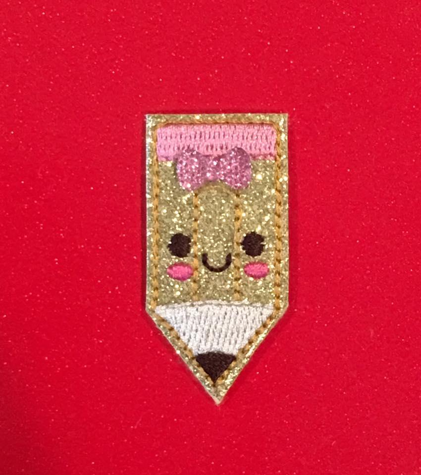 SSBJ Art Supplies Pencil Embroidery File