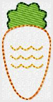 SSBJ Carrot Embroidery File